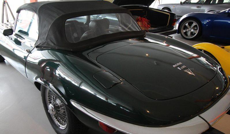 Jaguar E-Type Serie III Cabriolet voll