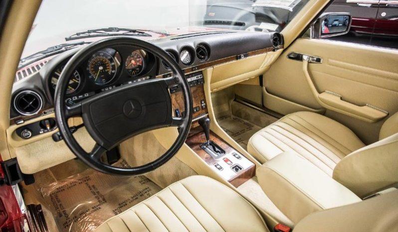 Mercedes 560 SL voll